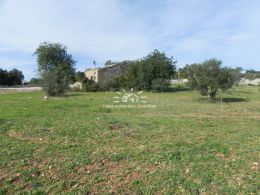 Large building plot with ruin and good road access near Loule