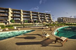 Luxurious apartment with pool in walking distance to Falesia beach in Vilamoura