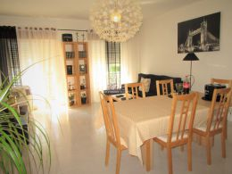 Two bedroom top floor apartment in Santa Luzia