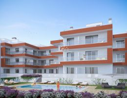 New penthouse apartments with large terraces & pool in the center Tavira