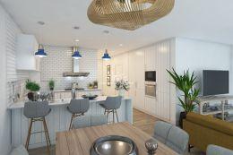 Neue Wohnungen mit großer Terrasse und privatem Pool in Tavira