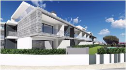 Newly build ground floor frontline apartments with stunning sea view near Tavira