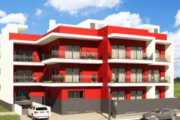 New 2 and 3 bedroom apartments with patio and garage in Tavira center