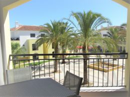 Immaculate two bedroom apartment with garage in stunning resort with communal pools in Cabanas de Tavira