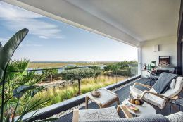 Unique luxury apartment with amazing views of the Ria Formosa and the sea