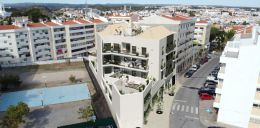 Impressive 3 bedroom apartments with large terrace and garage in Tavira town centre