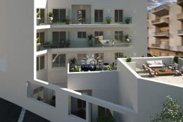 Spacious 3 bedroom apartments with balconies and garage in Tavira town centre