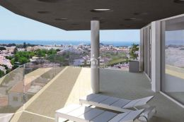 Luxury apartment with stunning sea view and communal pool in Lagos