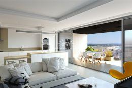 Luxus Penthouse-Appartement mit Pool und atemberaubenden Meerblick über die Bucht von Lagos