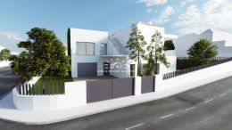 Approved project to build a modern villa with garage and pool in Tavira