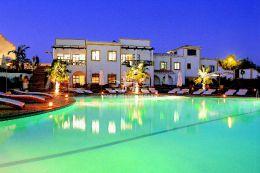 Einmaliges Resort nur wenige Gehminuten vom Strand und Golf entfernt