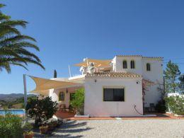 Charming three bedroom villa with pool enjoying sea and country views near Tavira