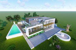 Portugiesisches Bauernhaus mit Pool und Meerblick in idyllischer Umgebung nahe Carvoeiro