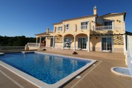 Large villa with pool and fantastic seaview near Loule