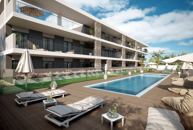 Brand new modern apartments with communal pool
