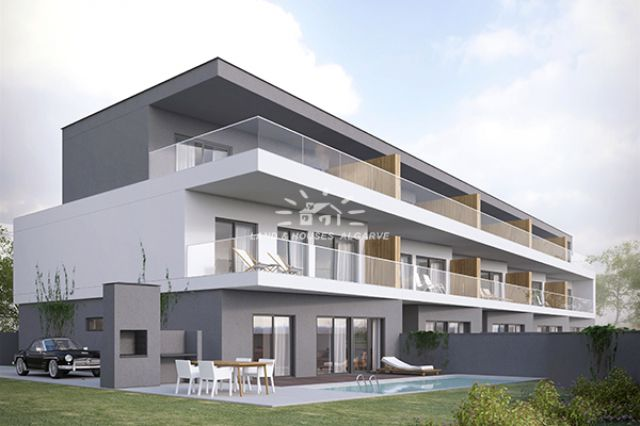 Off plan - Semi-detached villas with pool and townhouses with pool in Tavira