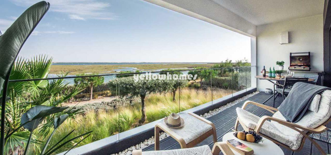Luxuriöse 4-SZ Wohnung mit fantastischem Blick auf die Ria Formosa...