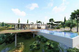 Under construction: Unique ultra-modern villa...