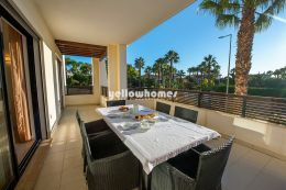 3 bed apartment near the beach with communal pool...