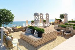 Stunning 2-bed penthouses with unique sea/ -garden...