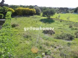 Infrastructured plot for construction near Vilamoura