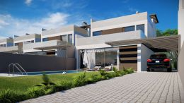 Newly built 3-bed detached villas with private...