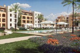 Mediterane 1-SZ Penthouse Wohnungen mit Golf und Meerblick...