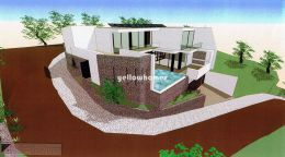 2 plots with approved project near São Brás de...
