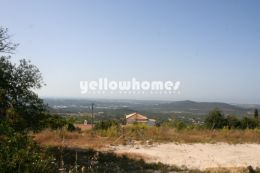 Large building plot with project and 360 degree...