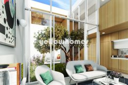 Contemporary newly built 3-bed linked villas in the...