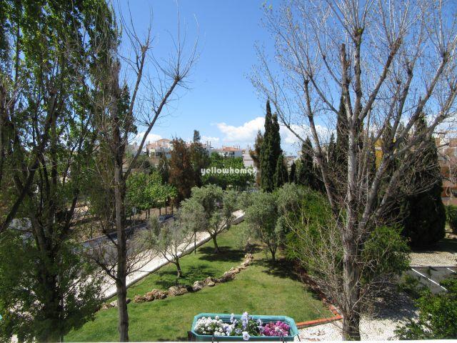 Aussicht vom Obergeschoss-Wohnung in Cabanas de Tavira mit schöner Aussicht nahe Strand und Golf