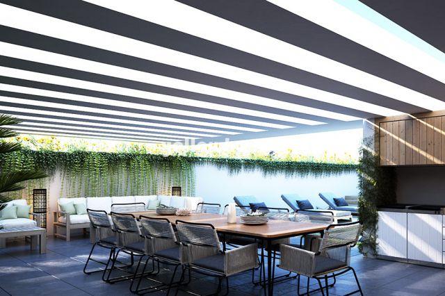 EG-Wohnungen mit jeweils sehr grossen Terrassen und privatem Pool