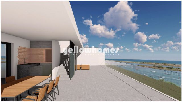 Neubau! 2 SZ-Wohnungen mit herrlichem Meerblick