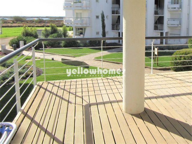 Vollständig möblierte Wohnung mit Meerblick im Golden Club Resort Cabanas de Tavira