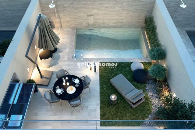 Haus mit Pool in Santa Luzia, neubau