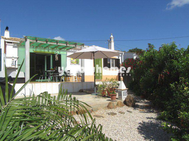 Terrasse mit Aussicht Makelloses 2 SZ Haus mit hübschem Garten und Meerblick nahe Tavira