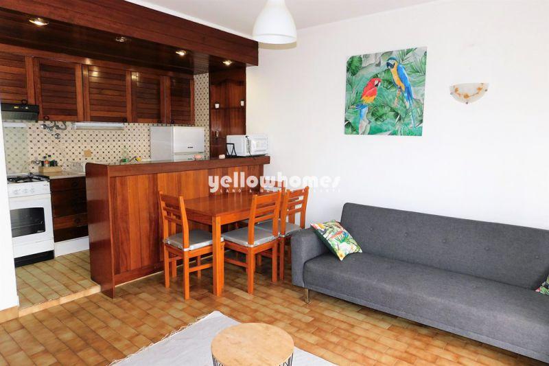 Apartamento T1 bem conservado em Vilamoura, perto da praia