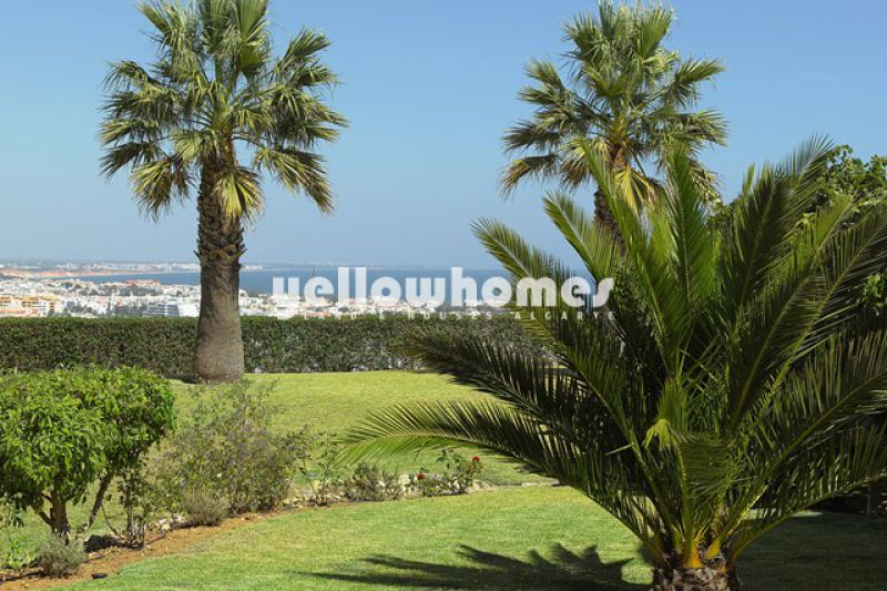 Unique property with famous landmark overlooking Albufeira