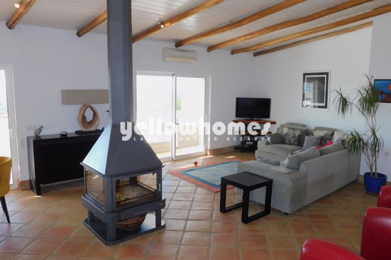 Nr Loule and Boliqueime 3 bed villa with pool and sea views
