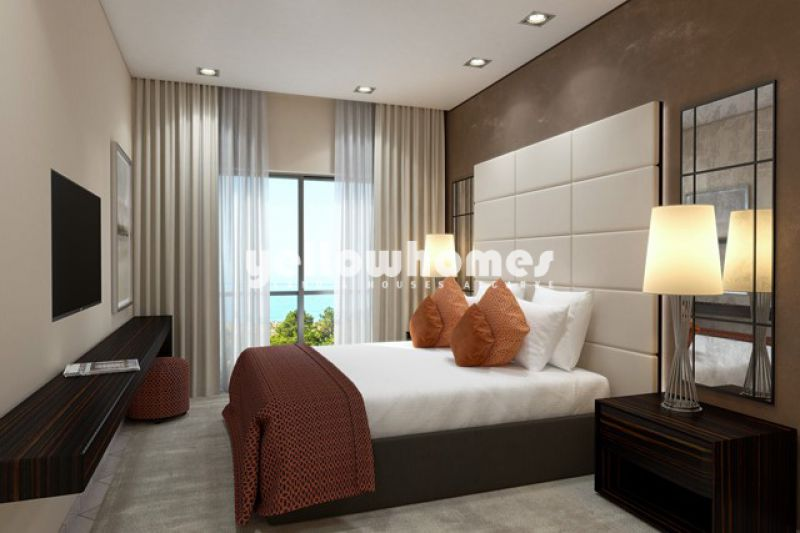 Exclusivos apartamentos T1 num empreendimento privado perto da praia no Triângulo Dourado