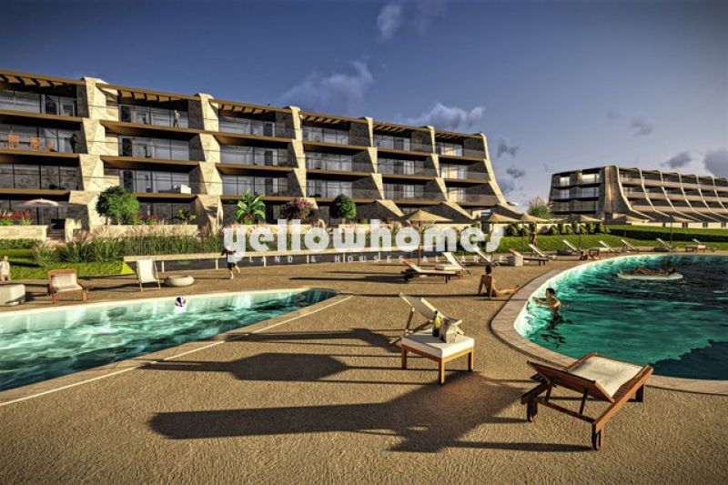 Luxury 2 bed apartments under construction next to the golf course in Vilamoura