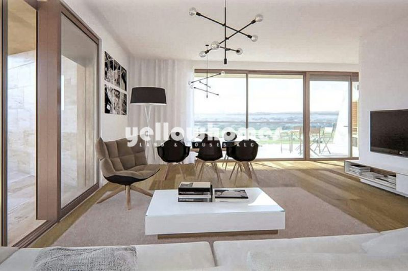 Modern 2 bed apartments in Vilamoura with sea views, under construction, for sale