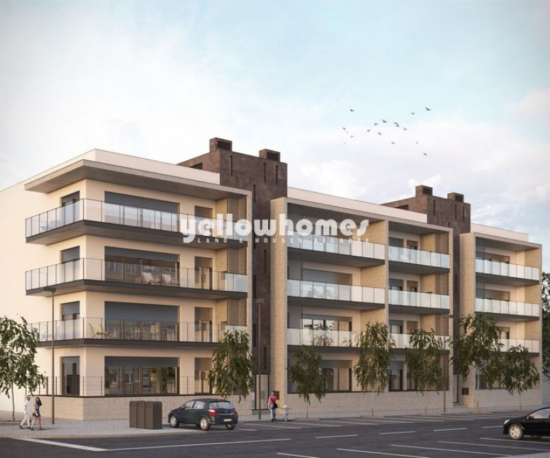 Newly built 3-bed apartments in the centre of Tavira