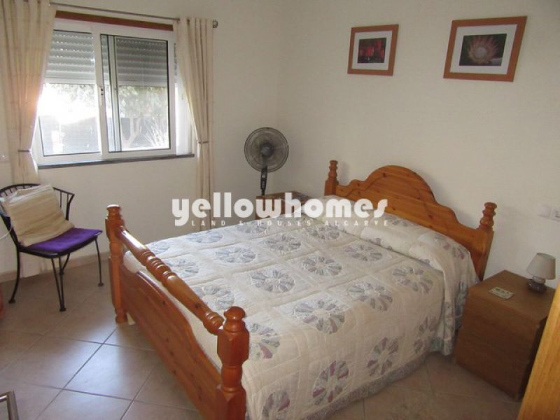 3-bed ground floor apartment with large South facing patio in Tavira