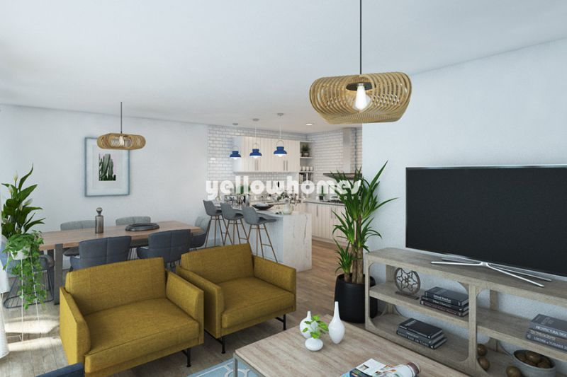 Newly built ground floor apartments with patio and private pool in Tavira