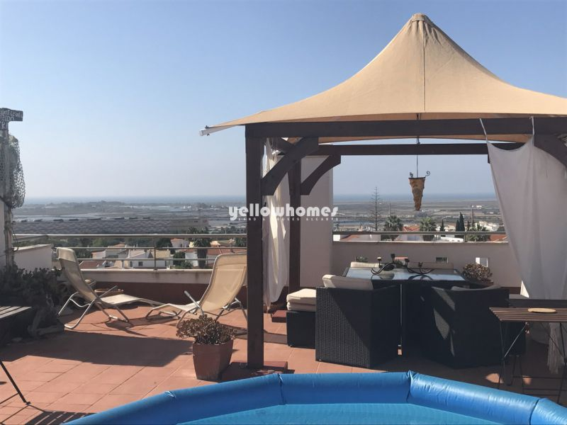 3-bed penthouse with unique sea views in Tavira
