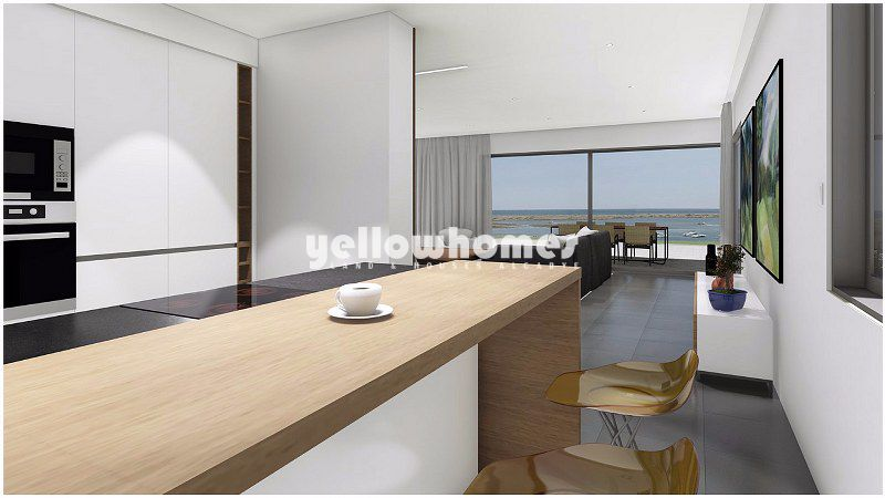 Newly built 2-bed frontline apartments with amazing sea views in Cabanas