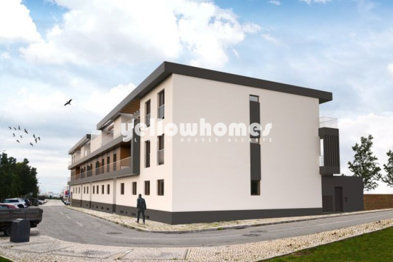 Newly built luxury apartments with communal pool in Cabanas de Tavira