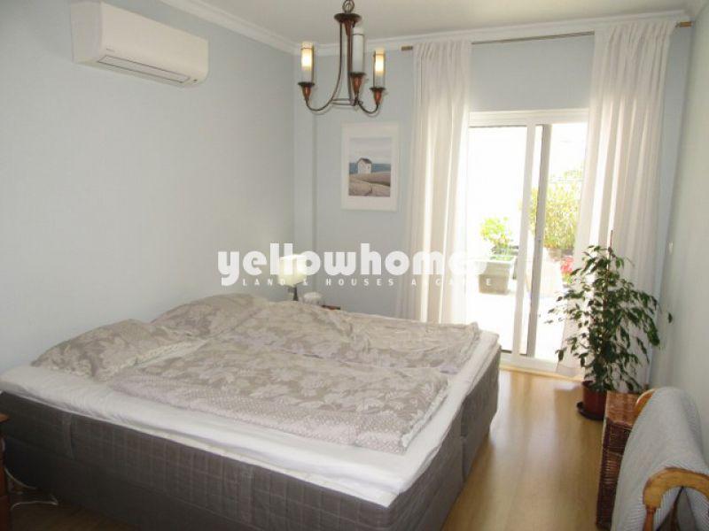 Well kept 2-bed ground floor apartment in Tavira