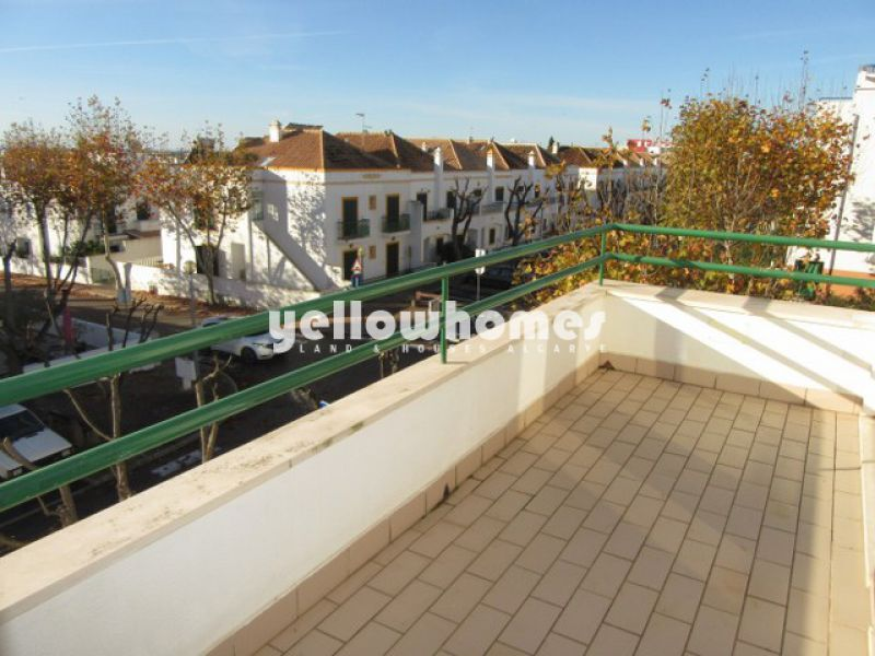 1-bed penthouse with fantastic sea views in Tavira